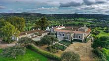 Palacio desde el drone