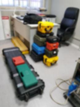 Транспортировочные кейсы для оборудования