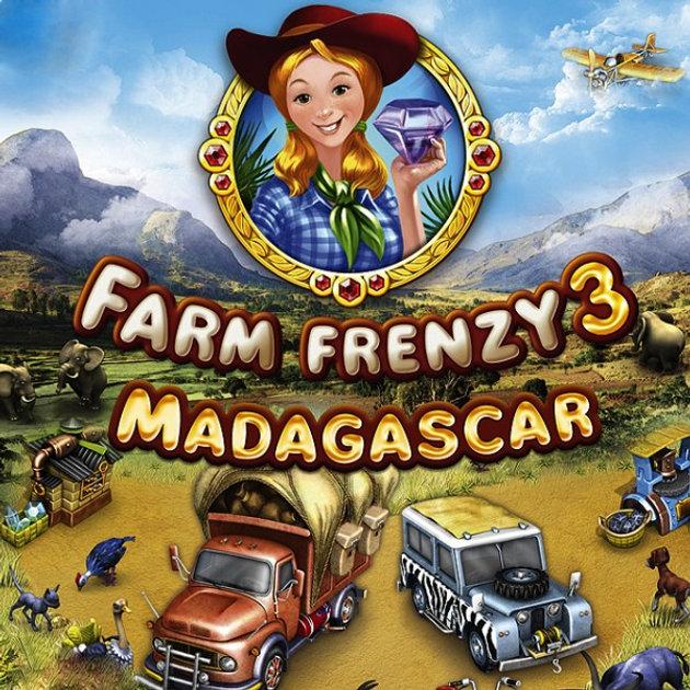 Farm Frenzy 3 Madagascar only GOLD Walkthrough gameplay