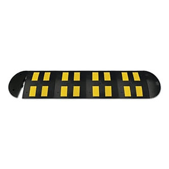 Speed Bump Size B/Yellow Reflective Tape 23.62″x19.68″x1.77″