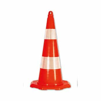 "PVC Traffic Cone 27.55"" (height)"