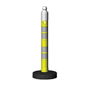"Yellow Delineator Marker & Traffic Channelizer Post 47.24"" (height)"