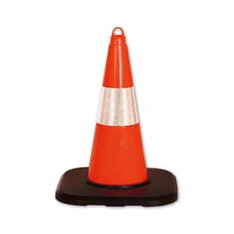 "PVC Traffic Cone 19.68"" (height)"