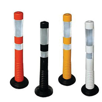 "30"" Traffic Delineators with Removable Base"