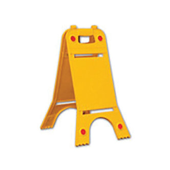 Bi-Directional Blank Caution Floor Sign