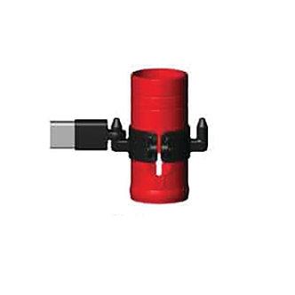 Delineator barricade panel holder adaptor