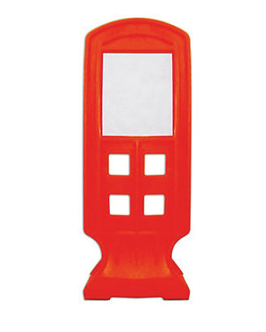 Small Lane Channelizer Flap 11.02″ H