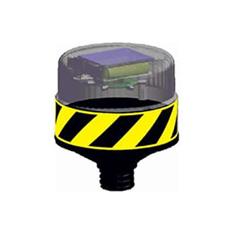 Yellow Plastic Corner Guard  / Solar LED