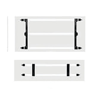 59.05″x29.52″ Delineator barricade panel board holder