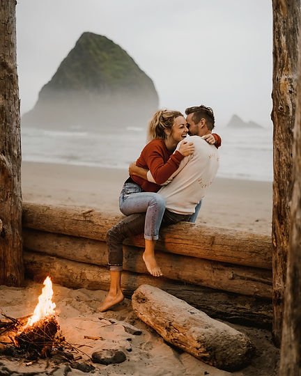 Cannon Beach Elopement Photographer - Tracy Pacana