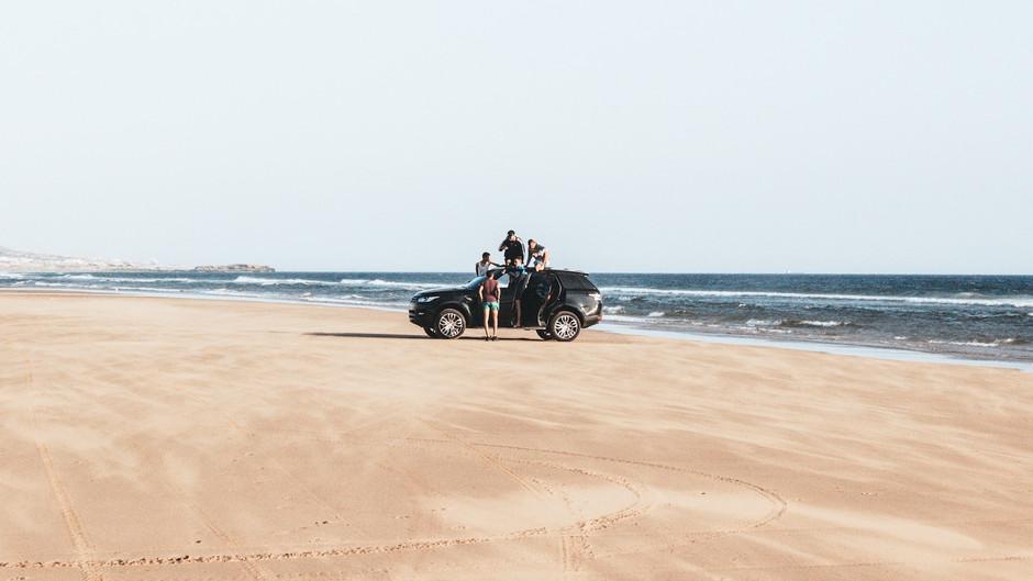 4x4 beach ride
