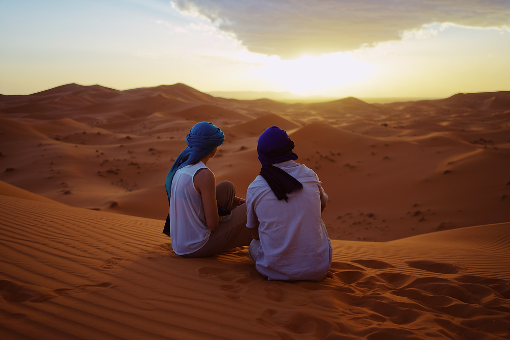 tailor made luxury desert in Morocco Sahara