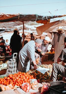 Local traditional souk visit