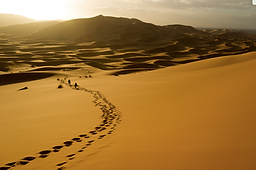 Luxury trip to the great Sahara desert in morocco