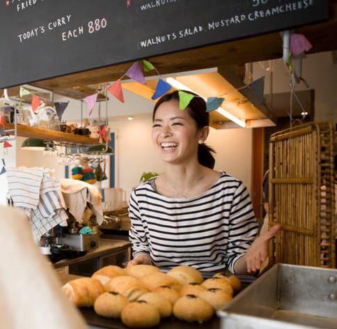 Lokale Bäckerei