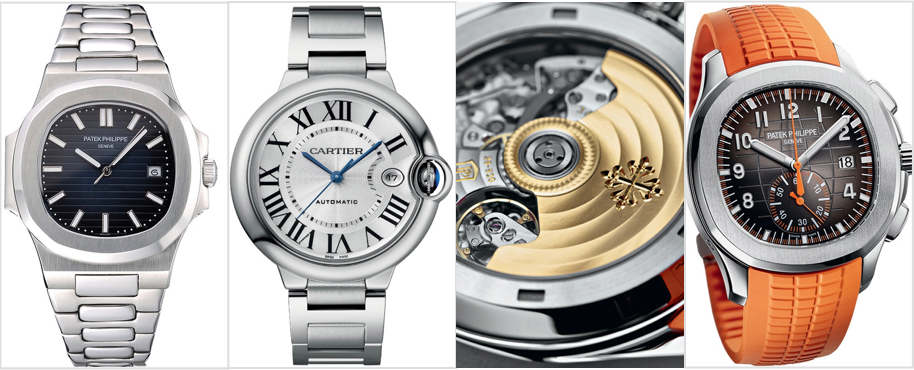 De geraffineerde imitaties met zelfs het uurwerk nagemaakt, Kloons genaamd.