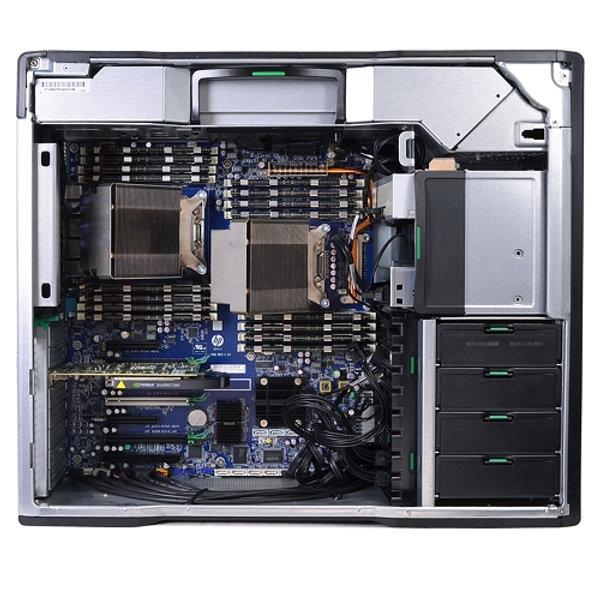 HP Z820 Workstation Dual Xeon E5-2640 Six-Core 2 5