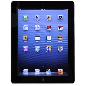 Apple iPad with Wi-Fi 16GB - Black (3rd generation