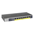 NetGear GS108PP 8-port Gigabit Ethernet PoE Unmanaged Switch