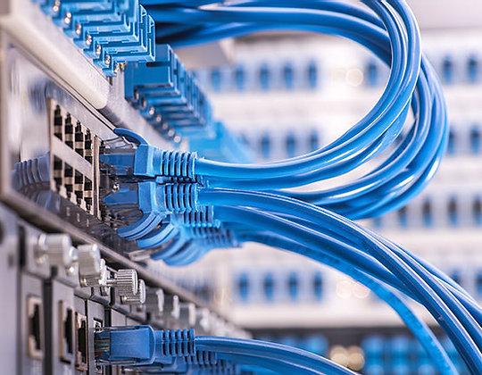 1 Cable Drop (1 Tech & 100ft Ethernet Cable)
