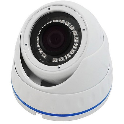 Techpro 1MP 720p  HD-CVI/TVI/AHD/Analog IR Dome