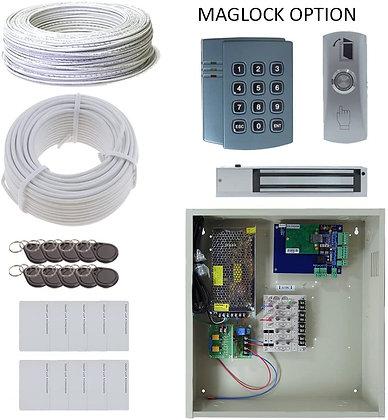 2 Door EL Board Package with 12A Power and Maglocks OR Doorstrikes