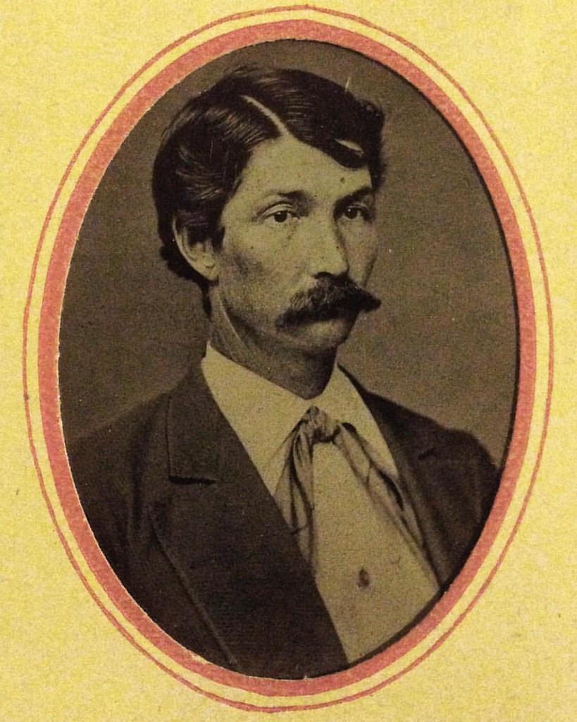 Mustachioed man