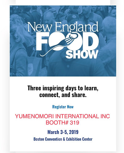 Presence at 2019 New England Food Show