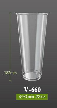 V-660 PP Soft Cup 22oz | Blank