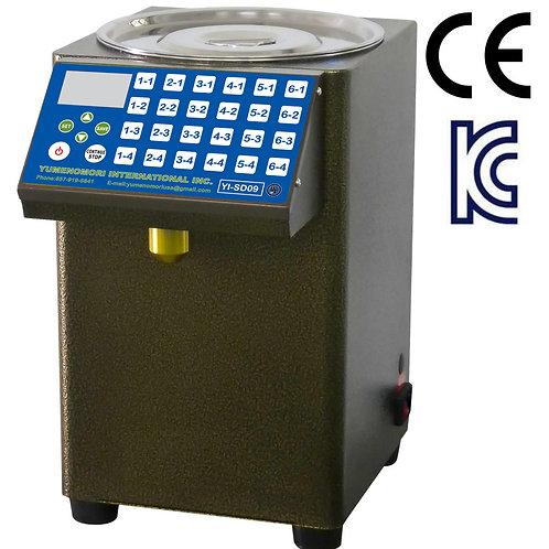Yumenomori Automatic Tabletop Syrup Dispenser YI-SD-09 (UL-Certified)