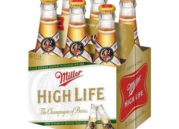 Miller High Life 6pk Bottles