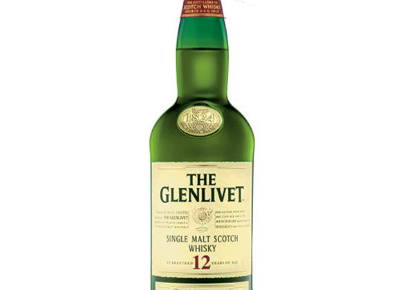 Glenlivet 12 Year Scotch