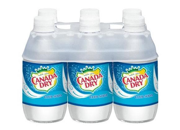 Canada Dry Club Soda 6pk