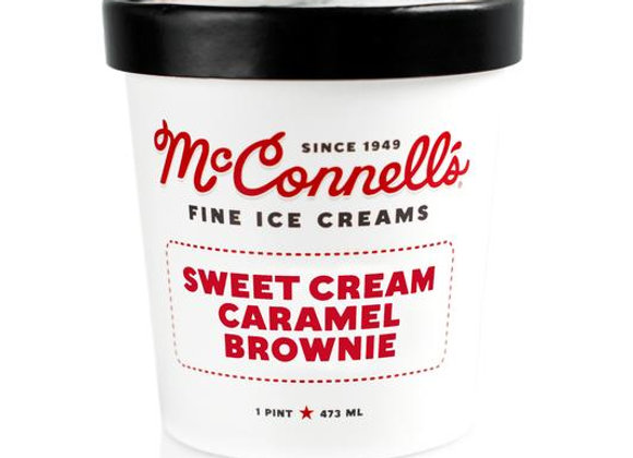 McConnell's Sweet Cream & Caramel Brownies