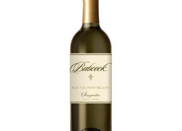Babcock Sauvignon Blanc Simpatico 17