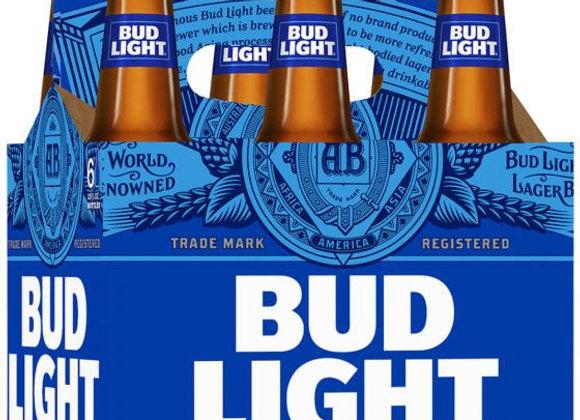 Bud Light 6pk Bottles