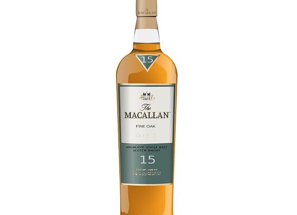 Macallan 15 Year Single Malt Fine Oak