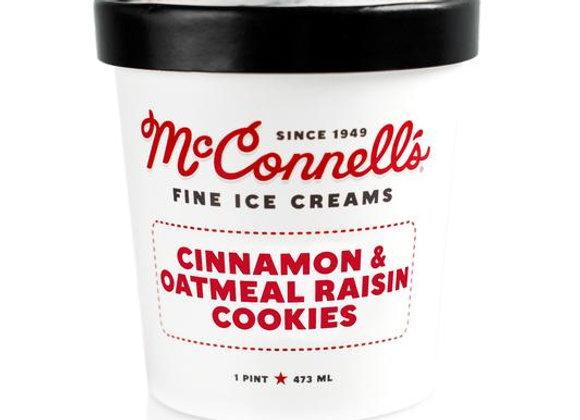 McConnell's Cinnamon&Oatmeal Raisin Cookies