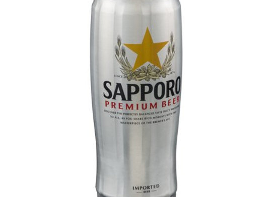 Sapporo Draft Can 22Oz