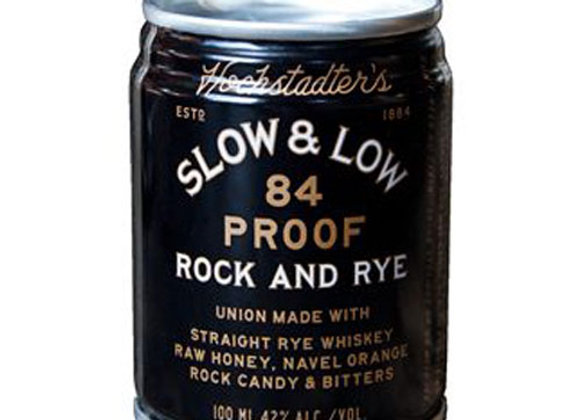 Hochstadter's Slow and Low Rock & Rye