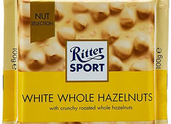 Ritter Sport White Hazelnut