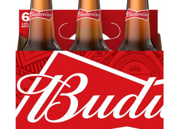 Budweiser 6pk Bottles