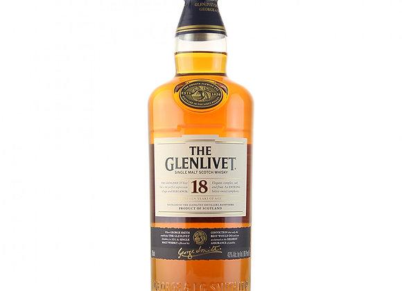 Glenlivet 18 Year Scotch