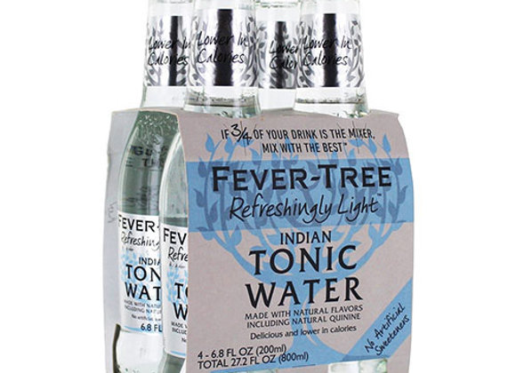 Fever Tree Light Tonic Water 4pk