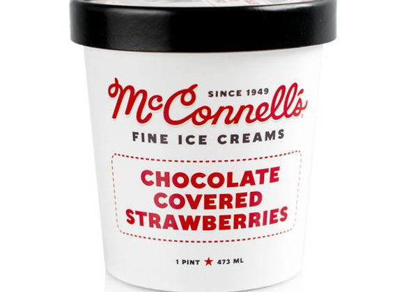 McConnell's Chocolate Covered Strawberries