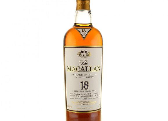 Macallan 18 Year Single Malt Scotch