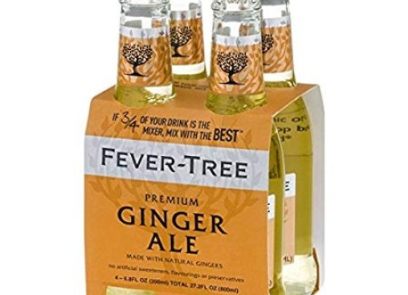 Fever Tree Ginger Ale 4pk