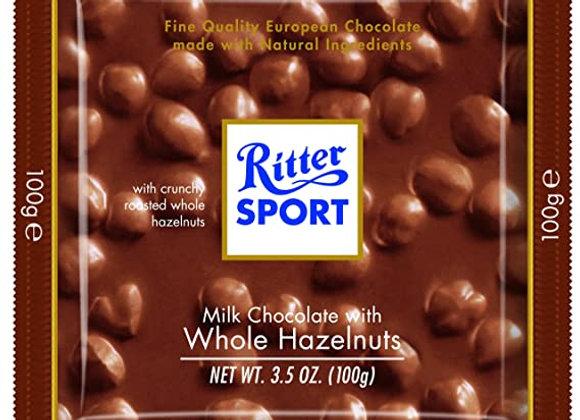 Ritter Sport Milk Chocolate Hazelnut