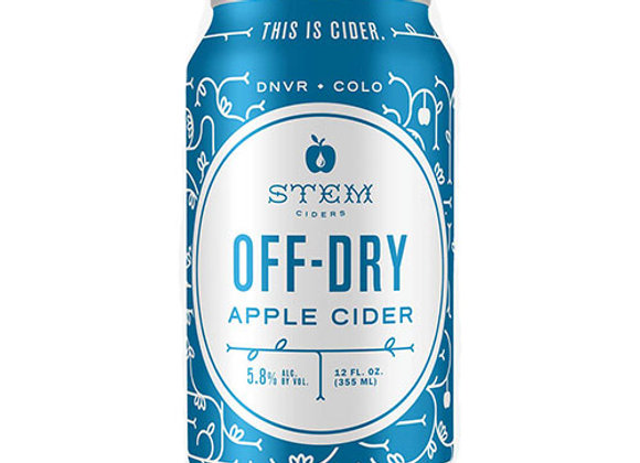 Stem Off-Dry Cider