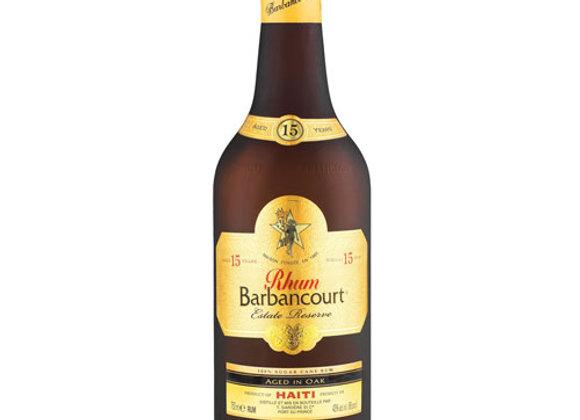 Barbancourt Rum - 15 Year